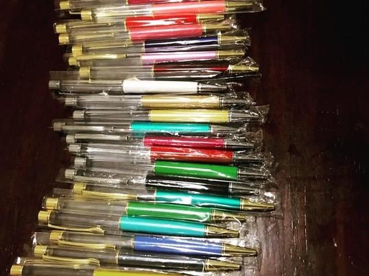 ハーバリウムボールペン作り☆の画像