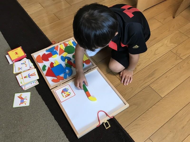 3歳からのホームスクールの画像