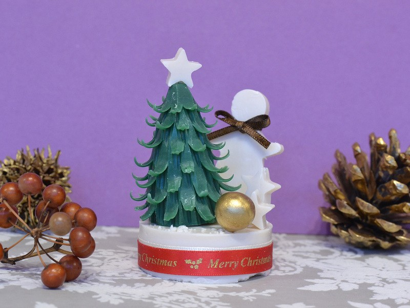 クリスマスを楽しむソープカービング!(親子参加可)の画像