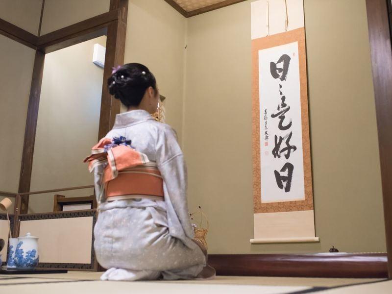 本格的な茶道体験。下町情緒あふれる浅草で。の画像
