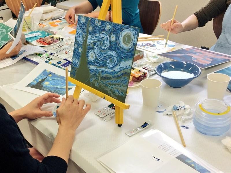 現役の美術作家が教える模写講座 「印象派 モネの作品を描く」の画像