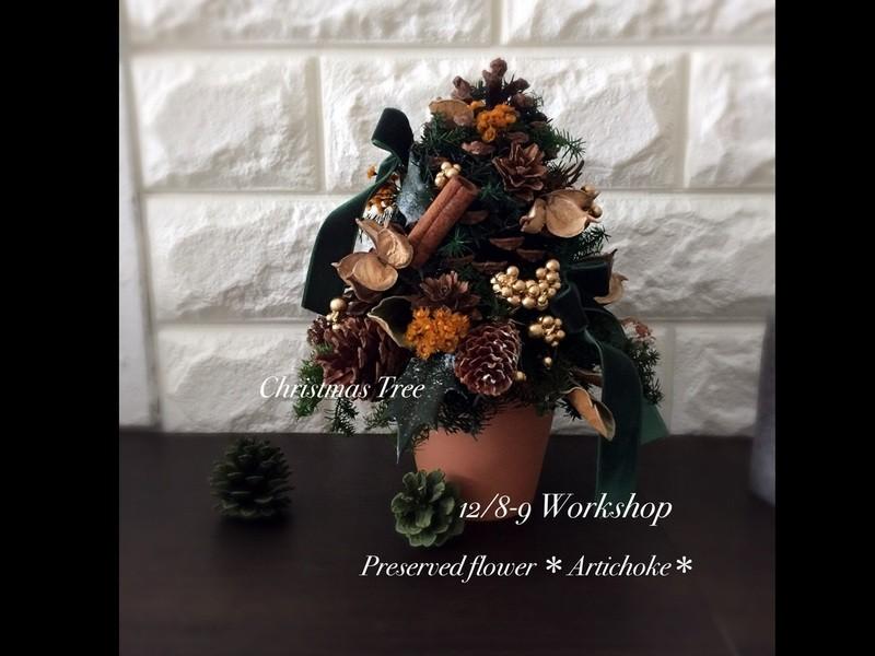 満席!自慢できちゃう!木の実のクリスマスツリーを簡単手作り体験☆の画像