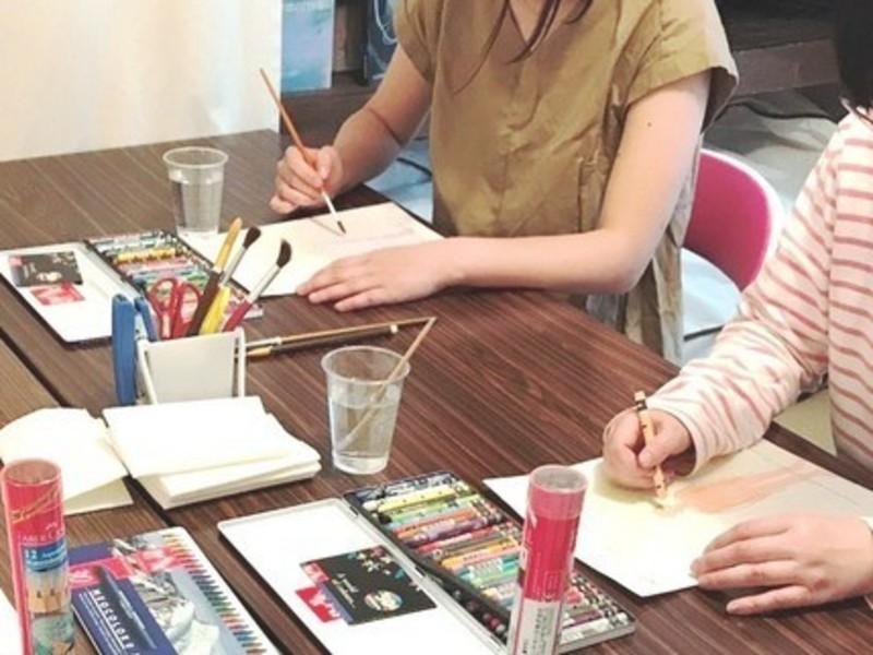 【福岡市 冷泉荘にて開催】簡単な塗り絵から始められる!色彩心理講座の画像