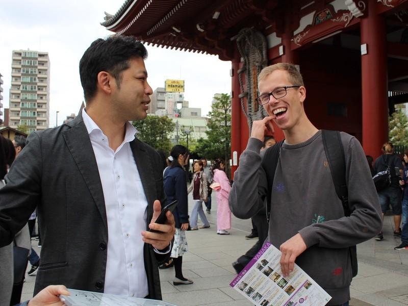 英語で勝手に観光案内【ゲリラ・フリーガイド】実践英会話の画像