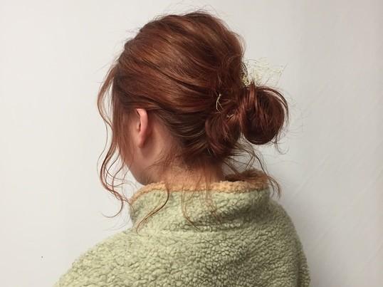 原宿表参道の美容師が教える初心者専用ヘアアレンジレッスンの画像