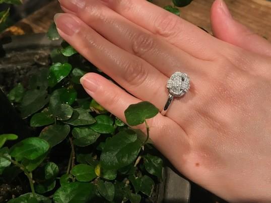 「水引アクセサリー」水引玉結びの指輪orピアスでご縁を呼び込もう☆の画像
