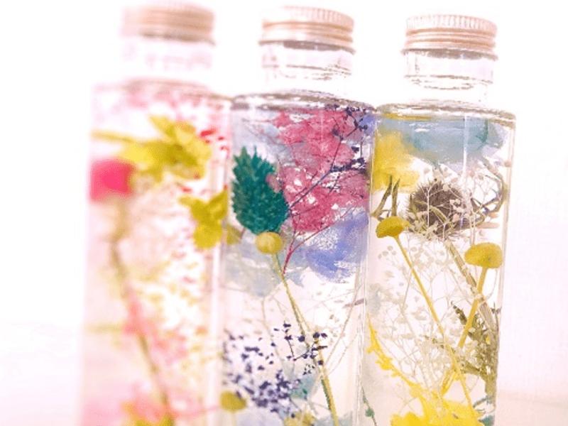 【東京・茅場町】ハーバリウムキットで誰でも綺麗に作れる♪の画像