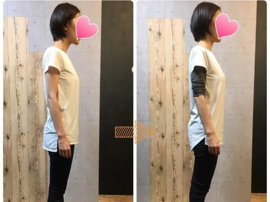 女性のための猫背改善パーソナルセッション~理由を知ると体が変わるの画像