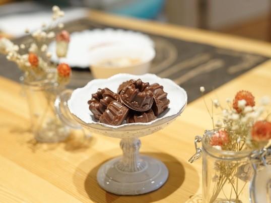身体に優しいチョコレート作りの画像