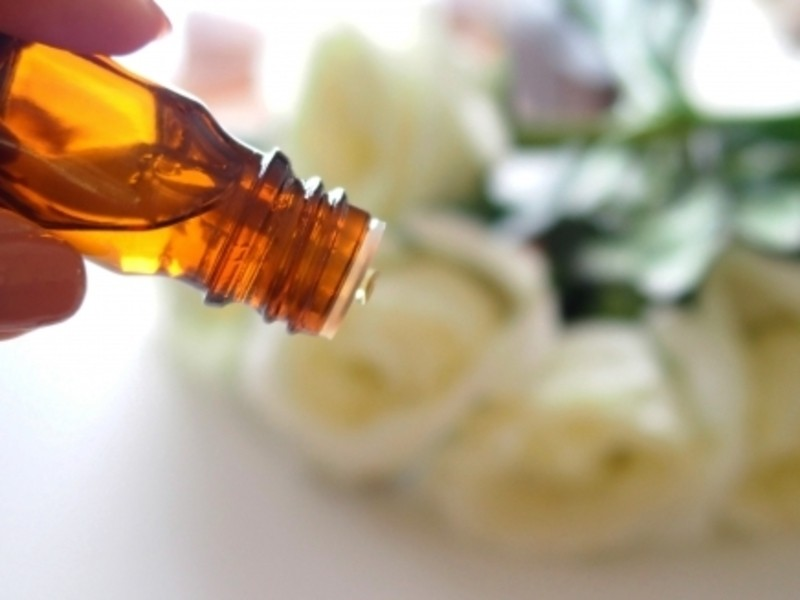 アロマの香りのバスボム作りの画像