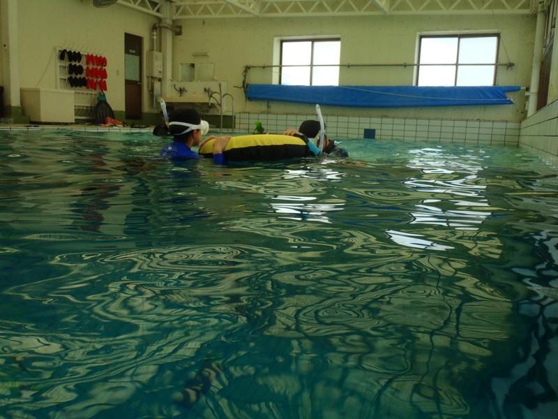【初回参加者用】スキンダイビング基礎・中級講習(千葉県市川市)の画像