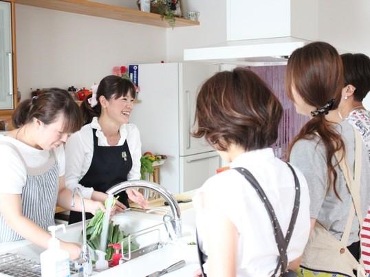 旬彩と発酵食品を使った体に優しいお料理教室の画像