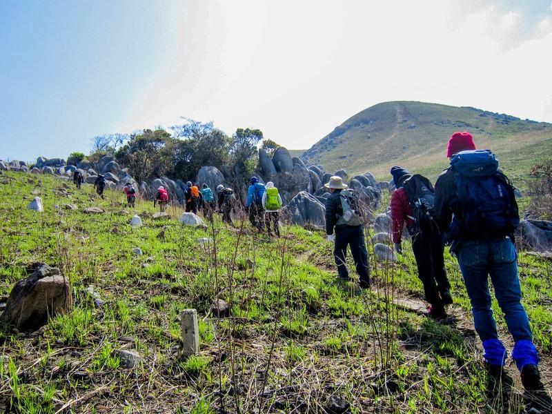 登山実践-基礎:野外演習(らくらく登山を目指して)の画像