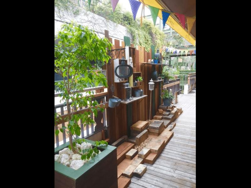 tukuriba4周年【ガーデンDIY FES】⑦ウッドデッキの画像