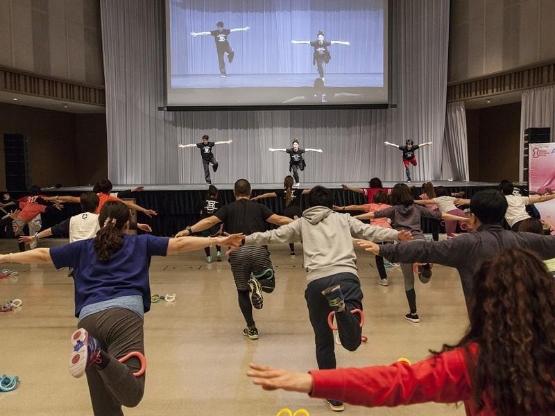 【仙台】ウェーブリングダンササイズ  ライセンス講習会の画像