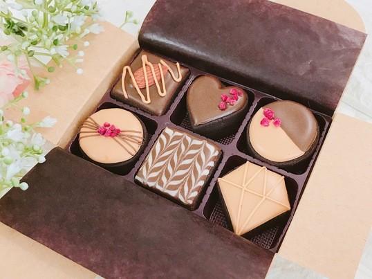 2月♡初心者でも作れるバレンタインアイシングクッキーレッスンの画像