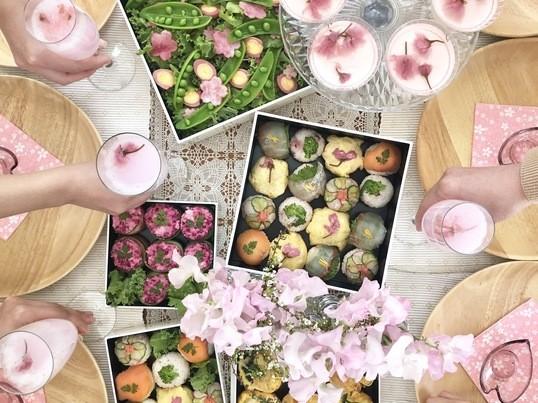 おウチで楽しむ、ヘルシーお花見弁当レッスンの画像