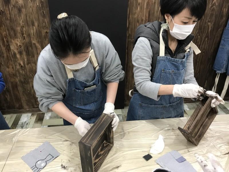 DIY初心者OK!卓上チェスト(塗装込み)の画像