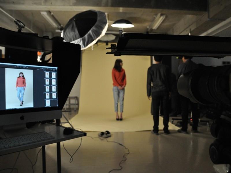 ポートレートコース1撮影実務者養成 スタジオ・照明ワーク撮影講習会の画像