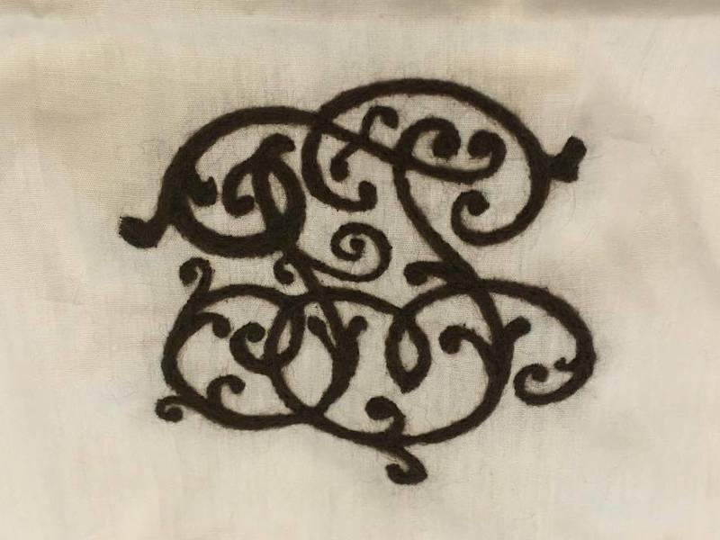 簡単!羊毛フェルトで色んなものに刺繍しよう!!の画像