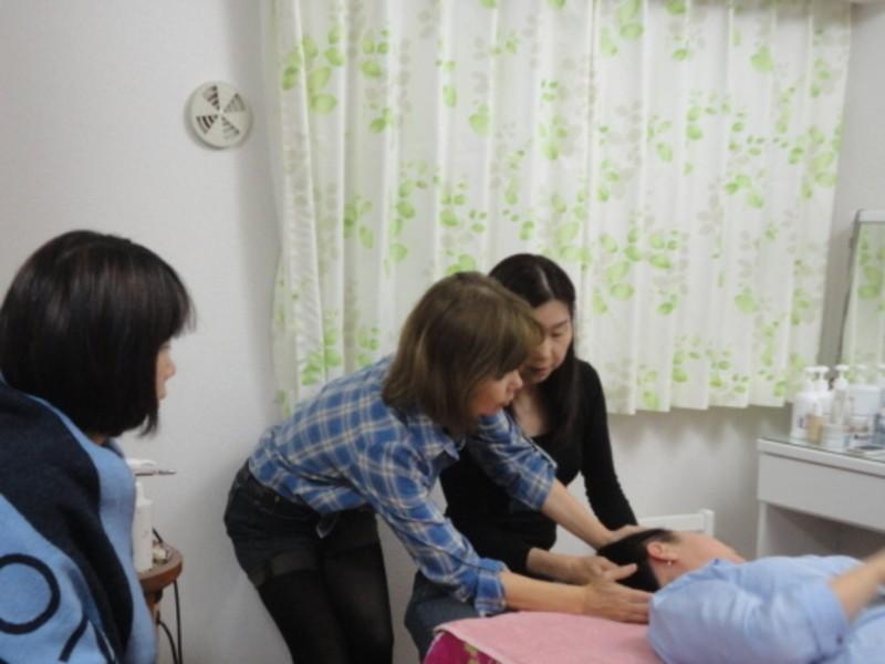 整体院・整骨院の先生が簡単に出来る痛くない小顔矯正の画像