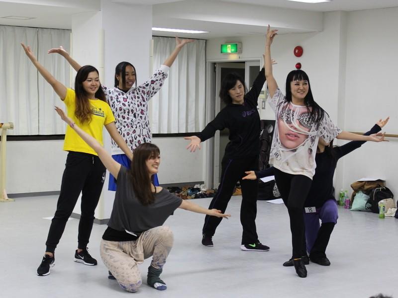 チアダンス テクニッククラスの画像