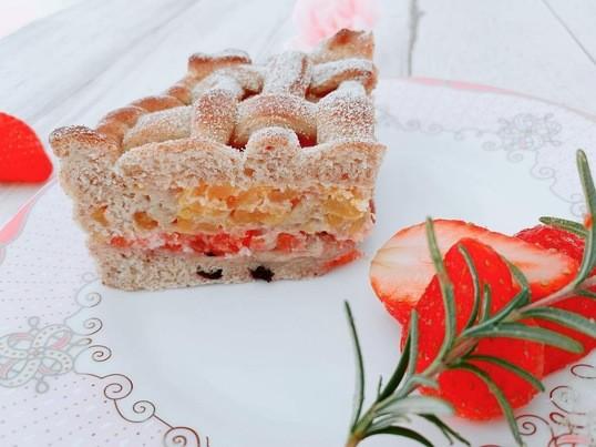 カラダの中からキレイになる「フルーツライブレッド&苺ハーブマリネ」の画像
