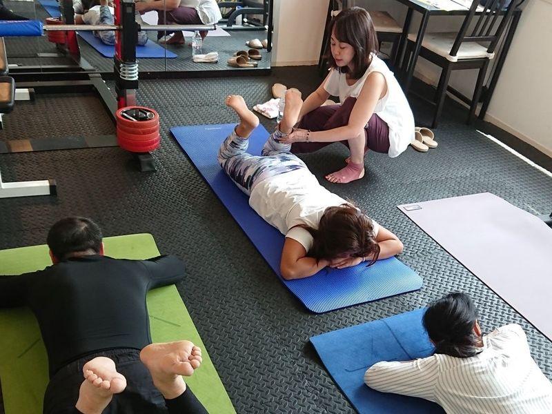 ペルビックストレッチ 骨盤体操教室の画像
