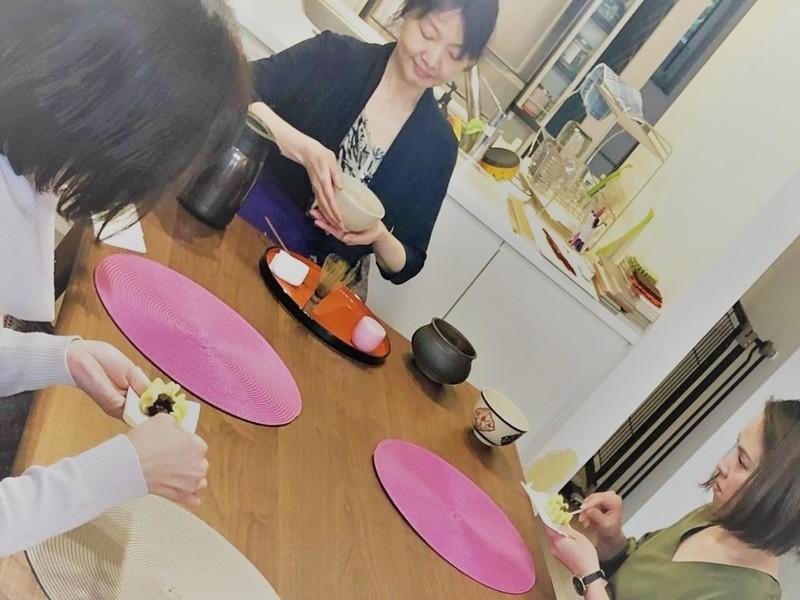 【目黒・都立大学】テーブル茶道「おもてなし茶の湯」体験の画像