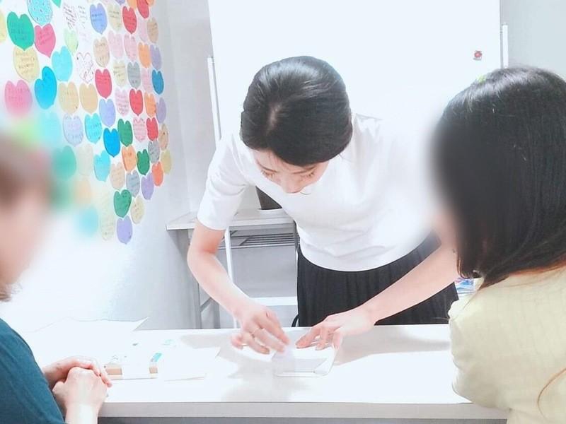 簡単プレゼントラッピングと、熨斗(のし)の基礎講習♫の画像