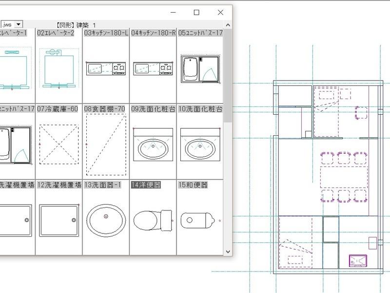 最短で学ぶ JW-CAD 建築製図の画像