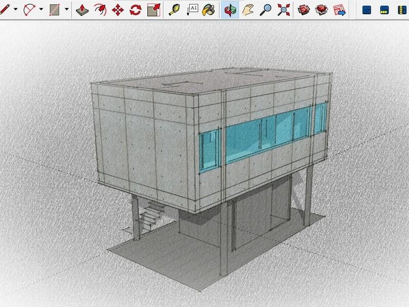 最短で学ぶ Sketchup 3D建築モデリングの画像