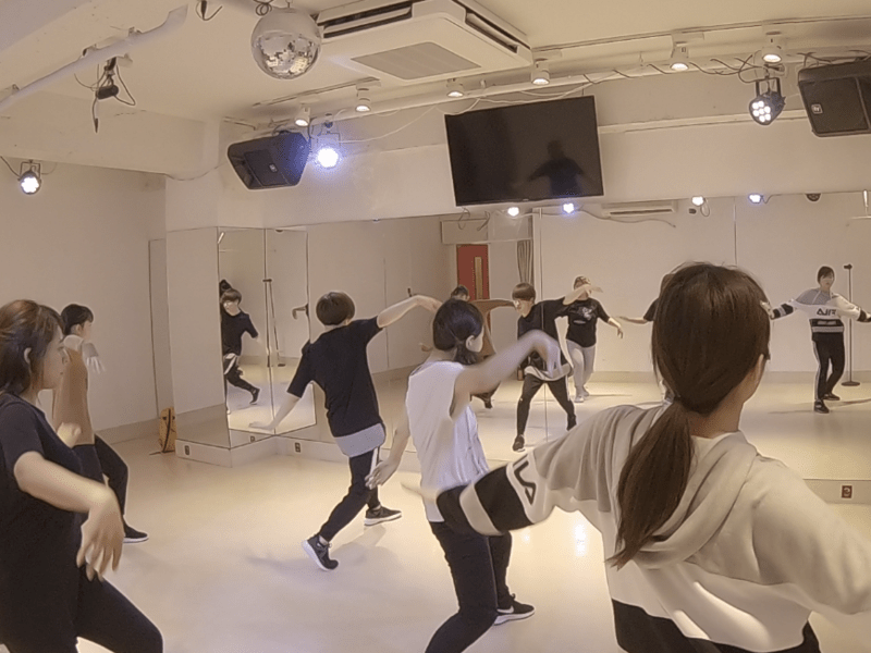K-POPカバーダンスレッスンの画像