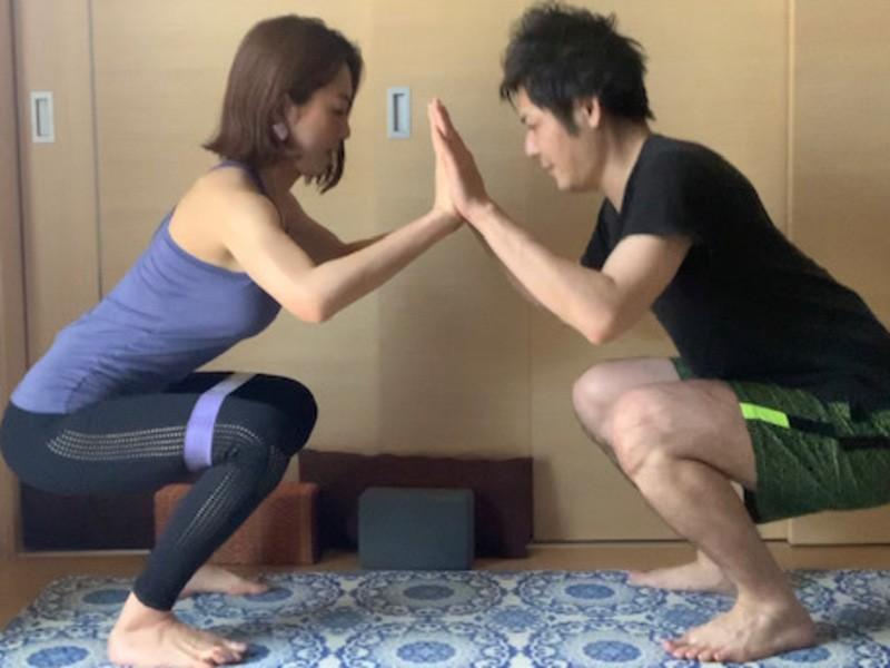 【オンライン開催 週末限定】夫婦カップル親子も2人で一緒に運動習慣の画像