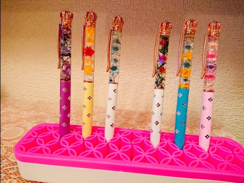 ハーバリウムボールペン(クラウンorタッチペン)のワークショップ♡の画像