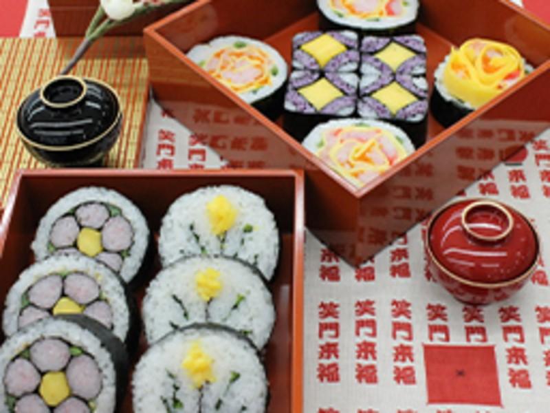 【金沢市】飾り巻き寿司 技能3級認定講座|寿司インストラクター協会の画像