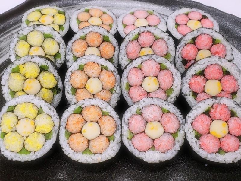 【秋田市】飾り巻き寿司 技能3級認定講座|寿司インストラクター協会の画像