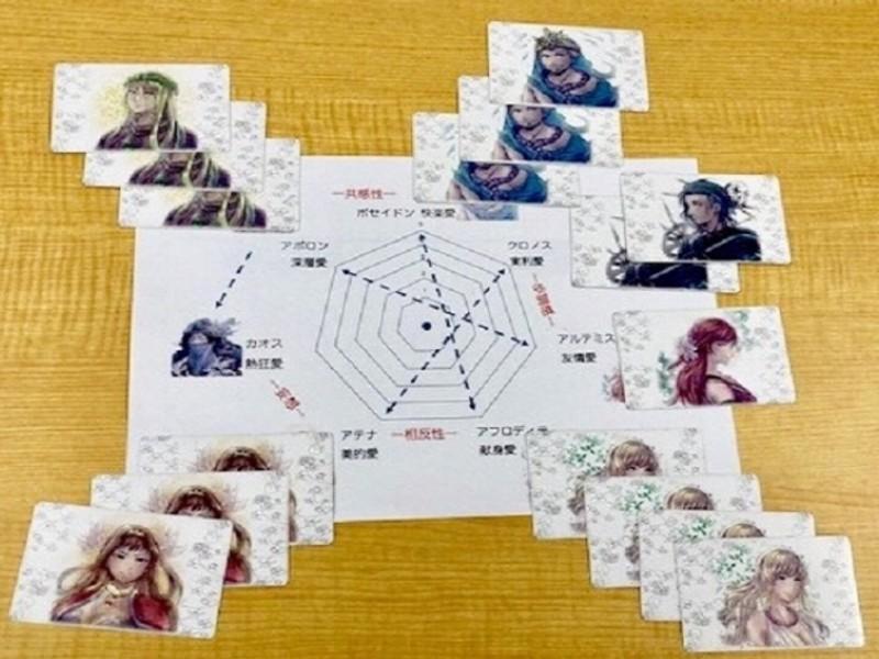 愛にも先生が必要。恋愛診断カードを使い相談者の潜在意識を引き出すの画像