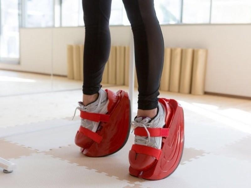 しなやかさがが高まる魔法の靴「マスターストレッチ」の画像