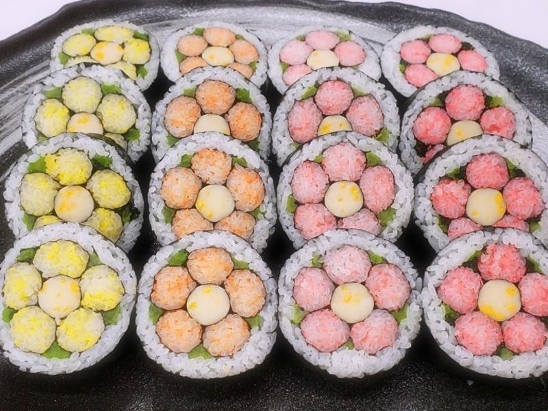 【名古屋】飾り巻き寿司 技能3級認定講座|寿司インストラクター協会の画像