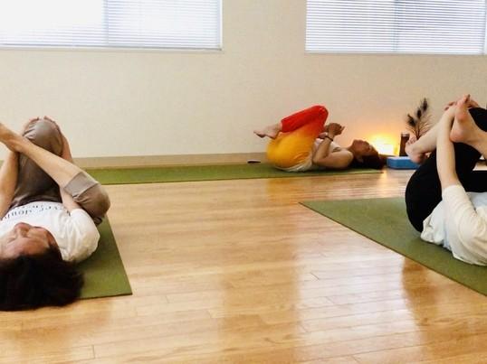 新小岩【リセット&リラックスヨガ】意識を変えて身体も心もスッキリ!の画像
