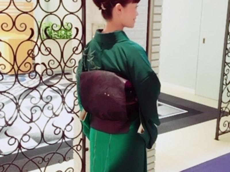 オンライン元・和装モデル伝授!初めての着物の選び方と不安をスッキリの画像