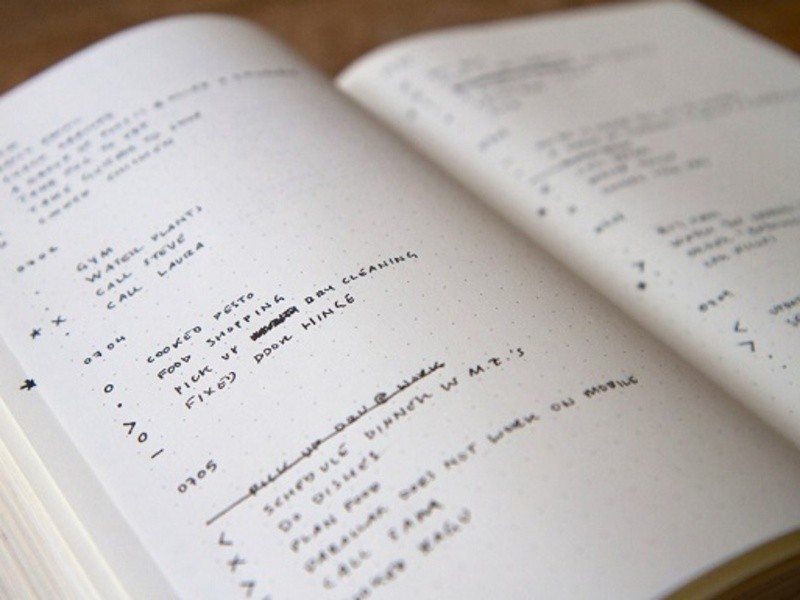 【オンライン】今日創る!モヤモヤ思考のノート術✑バレットジャーナルの画像