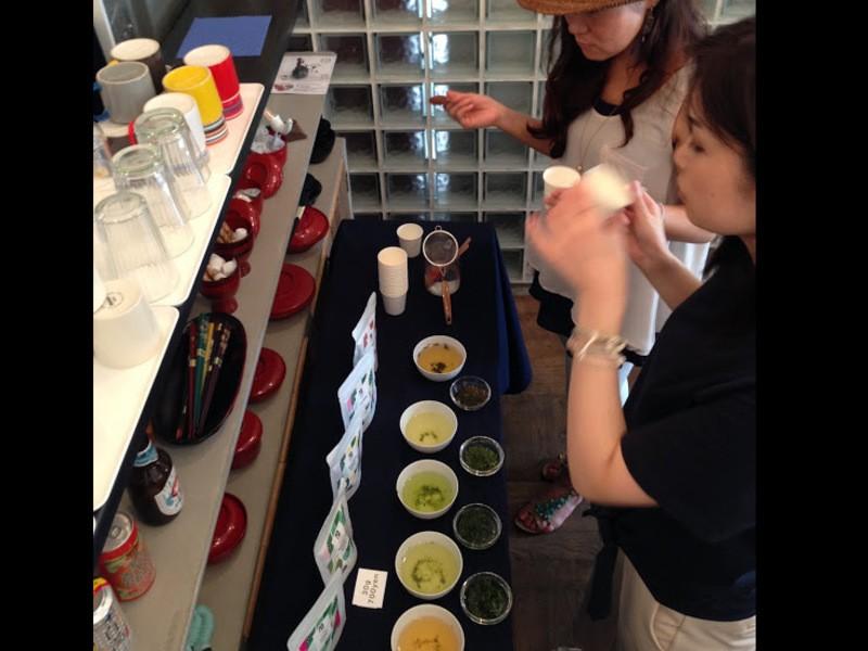日本茶バリスタが淹れる!新茶飲み比べと抽出メソッドの画像