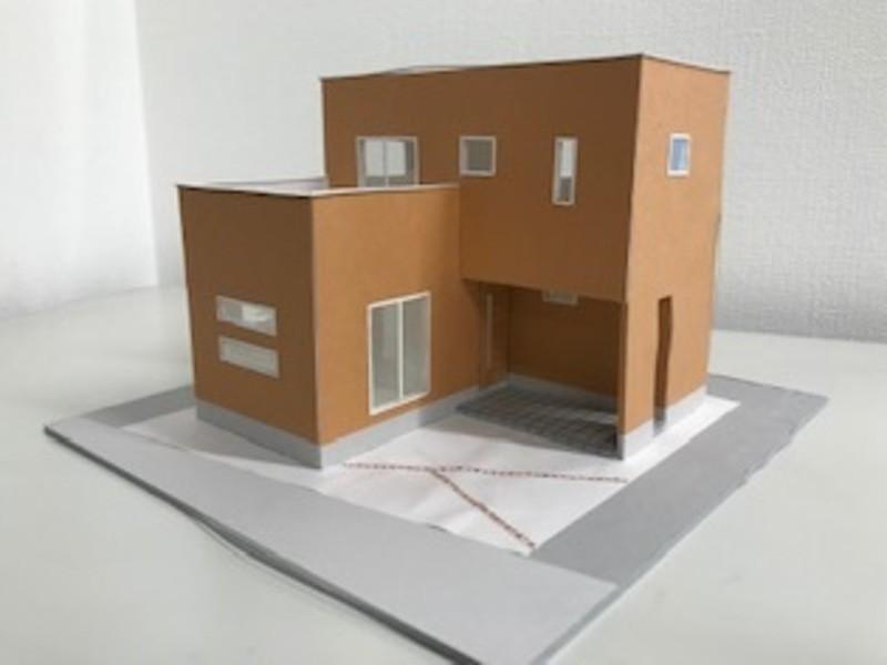 一戸建の住宅模型 体験ワークショップの画像