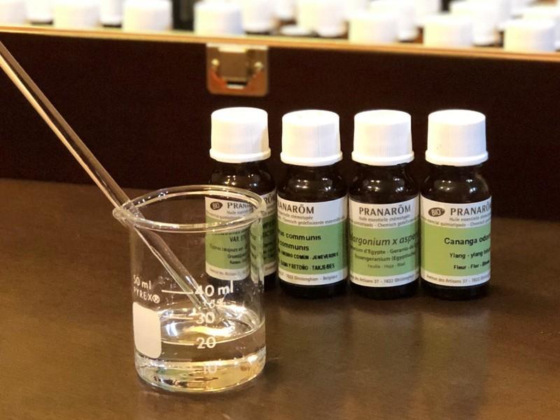 夏向けのオンリーワン香水作り!新緑薫る、サマーハーバルオードトワレの画像