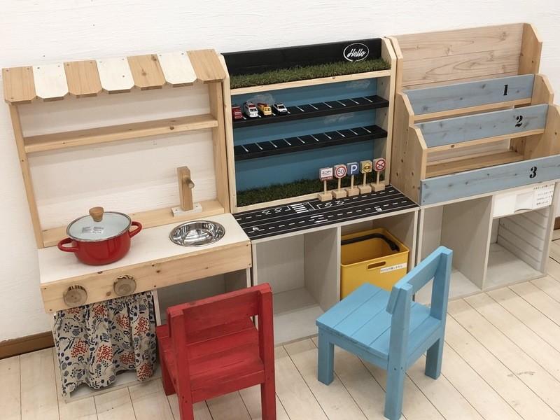 【2時間コース】おままごとキッチンDIY教室(塗装なし)の画像
