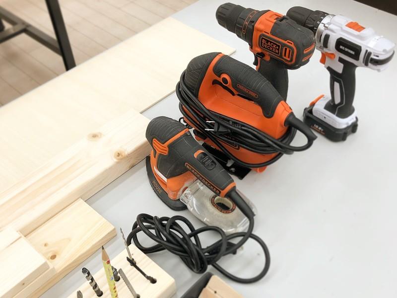 DIY初心者のための実践電動工具講座(3つの工具を使いこなす)の画像