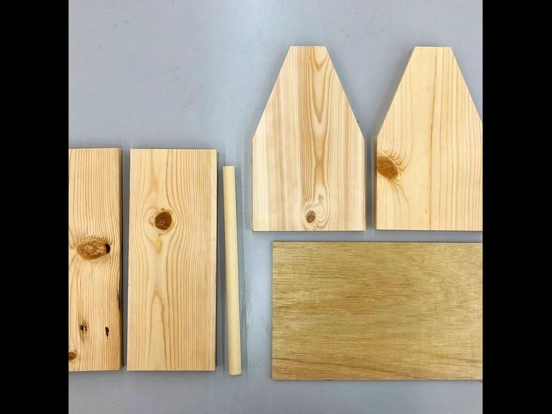 【DIY教室】持ち手付き収納ボックス(親子参加可能)の画像