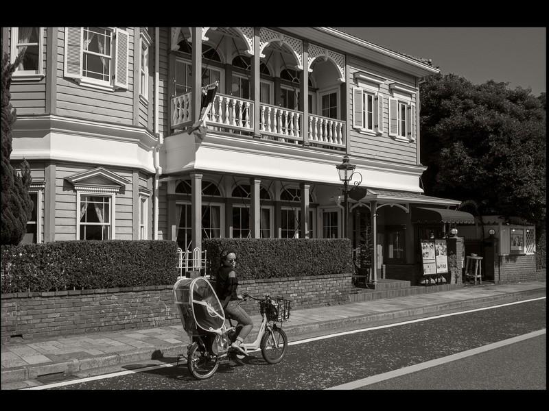 異国情緒溢れる横浜山手でスナップ撮り歩きの画像